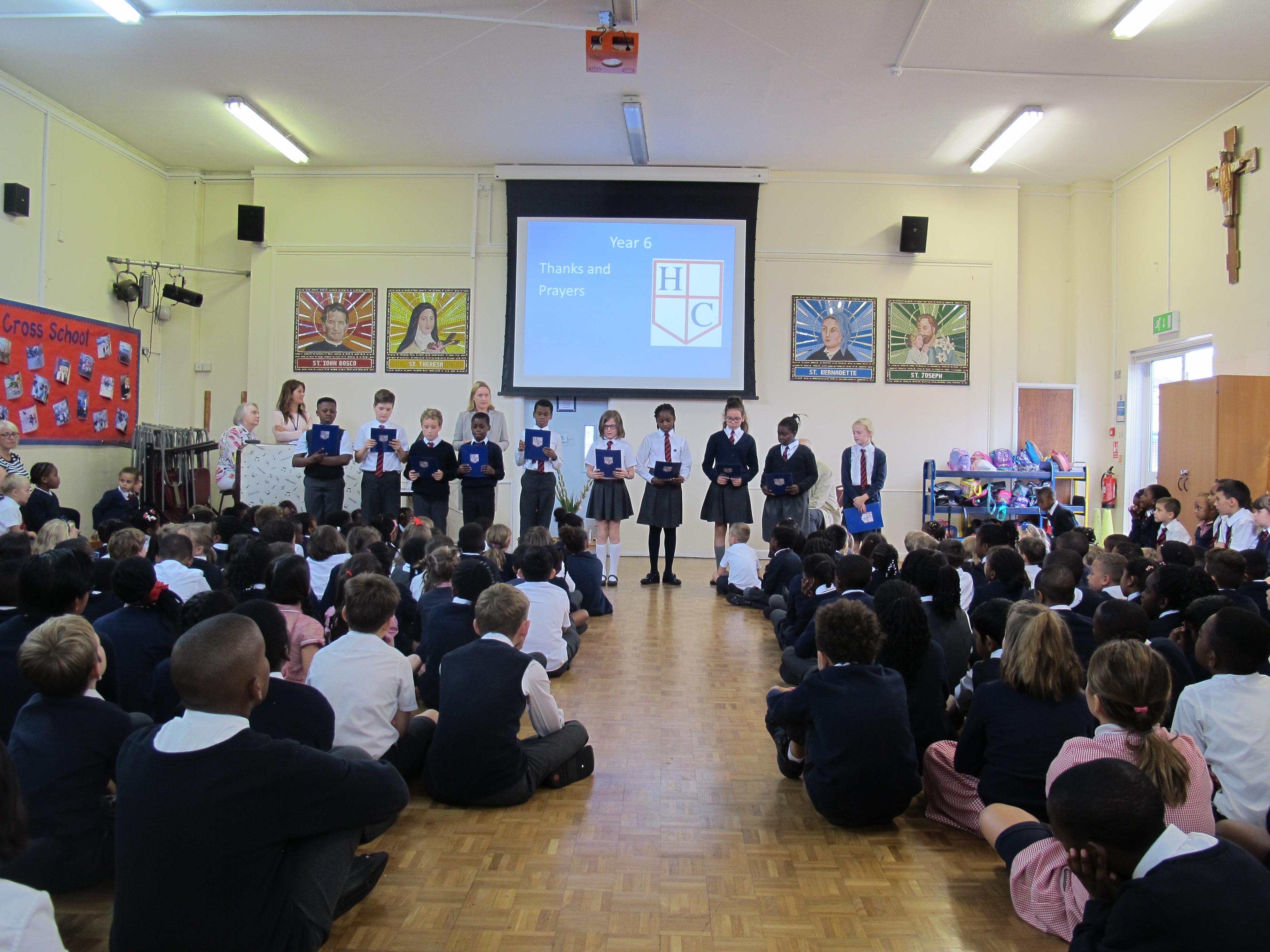 Farewell Father Doug | Holy Cross Catholic Primary School